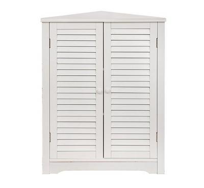 Corner Cabinet White 65*32.5*80Cm
