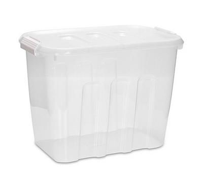 Storage Box 22L W/ Clip Lid Size:425X255X305Mm