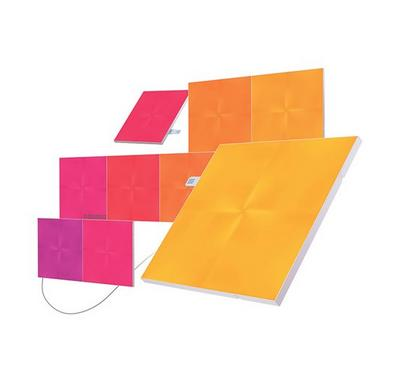 Nanoleaf Canvas, Color Changing Light, Squared shape, 9 Panels