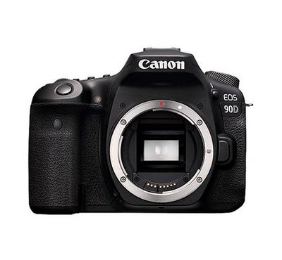 CANON EOS 90D Body, 32.5MP, Wi-Fi and Bluetooth, Black