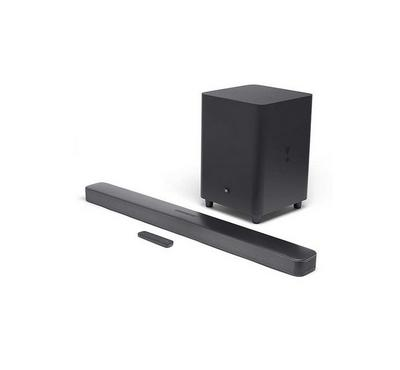 JBL Bar 5.1 Channel Soundbar, 550W, wireless subwoofer,Black