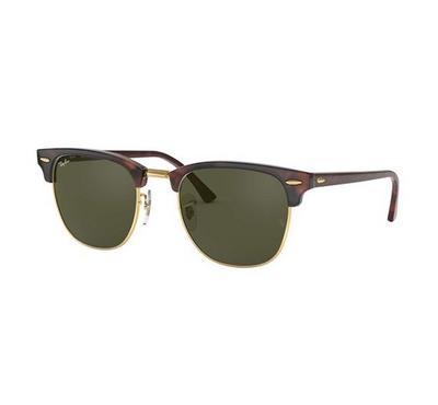 راي بان نظارة شمسيه عدسات خضراء رمادية اللون