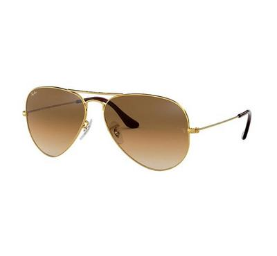 Rayban Aviator Gradient Sunglasses RB3025 001/51 58-14