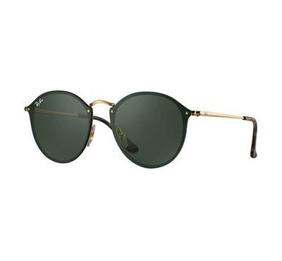 Rayban Blaze Round Sunglasses RB3574N 001/71 59-14