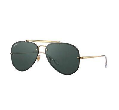 Rayban Blaze Aviator Sunglasses RB3584N 9050/71 58-14