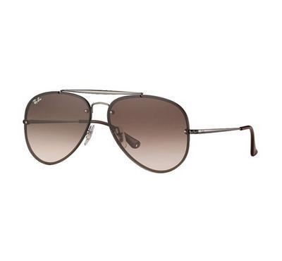 Rayban Blaze Aviator Sunglasses RB3584N 004/13 61-13