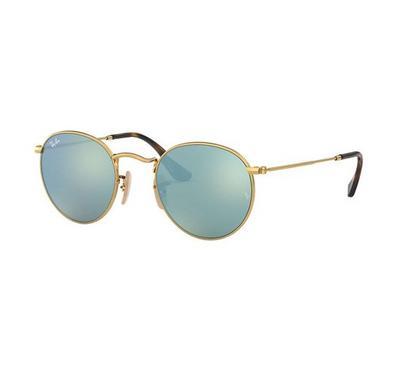 Rayban Round Flat Lenses Sunglasses RB3447N 001/30 50-21