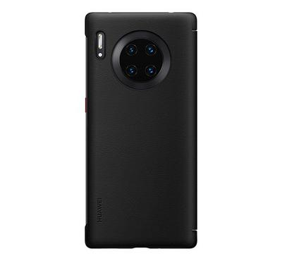 Huawei Mate 30 Pro Smart View Flip Cover, Black
