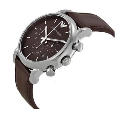 Emporio Armani, Men's Watch, Brown With Brown Dail