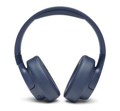 JBL TUNE 750BTNC Wireless Over-Ear ANC Headphones, Blue