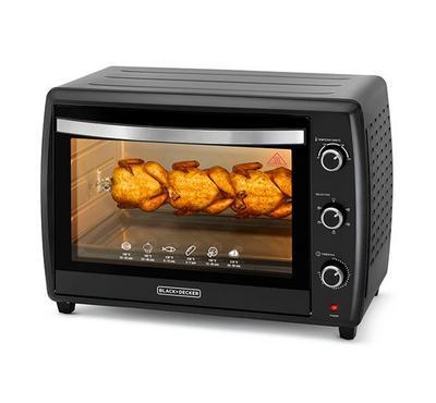 Black+Decker 70L Toaster Oven,2200W Power, BLACK
