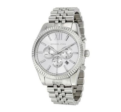 Michael Kors, Men's Watch, Silver With Silver Dail