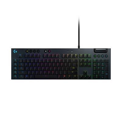 LOGITECH G815 Lightspeed RGB Mechanical Gaming Keyboard, Black