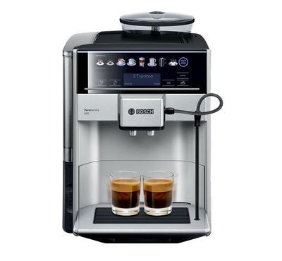 Bosch, 1500W Fully Automatic Coffee Machine,1.7Ltr water Tank, 19bar Pressure, Silver