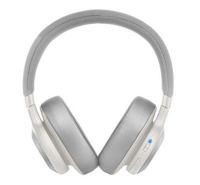 JBL Over, Ear Bluetooth Noise Canceling Headphones, White