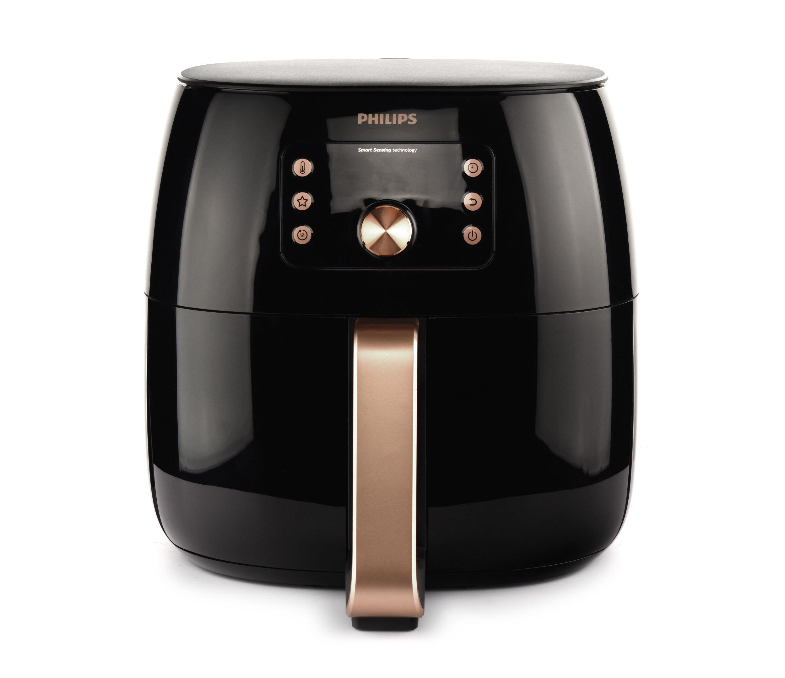 Philips Avance Airfryer Xxl 1 4kg Smart Sensor Technology Digital Black Copper Price In Saudi Arabia Extra Stores Saudi Arabia Kanbkam