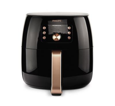 Philips Avance Airfryer XXL, 1.4Kg, Smart Sensor Technology, Digital, Black/Copper