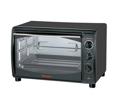 Sharp Electric Oven 42 L Capacity,1500W ,60mins Timer, Black.