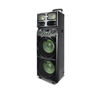JVC Portable Speaker System, 12000W, Bluetooth