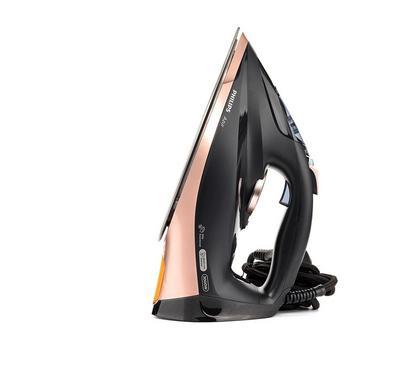 Philips Azur Steam Iron, 3000W, Black/Copper