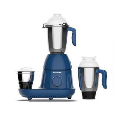 Butterfly Cyclone Mixer Grinder, 3 Jars, 600W, Ink Blue