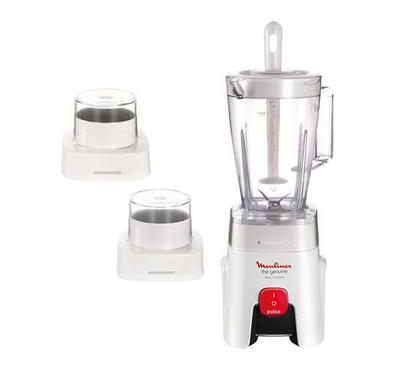 Moulinex Blender 500W, 1.5L , Speed1, Plastic Jar,White.