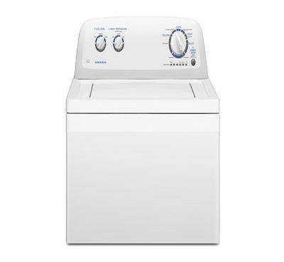 Amana Top load Washer, Automatic, 8 kg , 9 Wash Cycles, White