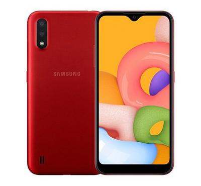 Samsung Galaxy A01, 16 GB, Red