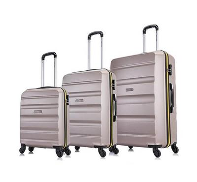 Travel Vision 3 Pcs Bags Youth Champagne 20/24/28