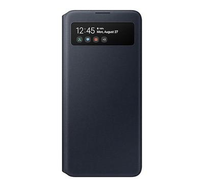 Samsung A51 S View Wallet Cover, Black