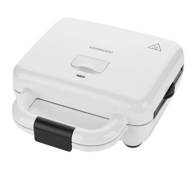 Kenwood Sandwich Maker, 3 in 1 Grill, Sandwich, Waffle, 700W, White