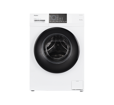 Haier Front Load Fully Automatic Washer, 10kg,1400 RPM, White
