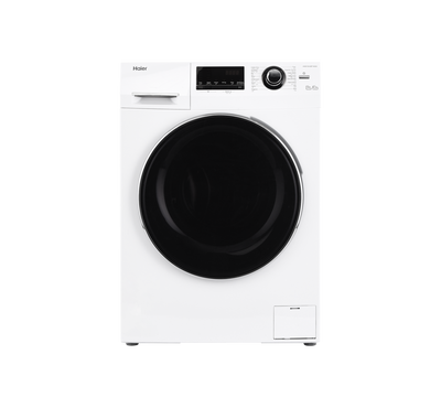 Haier Front Load Washer/Dryer Combo, 10 / 6 Kg, 1400 RPM,White