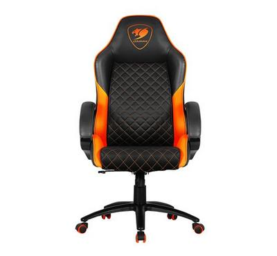 Cougar FUSION High-Comfort Gaming Chair Orange/Black