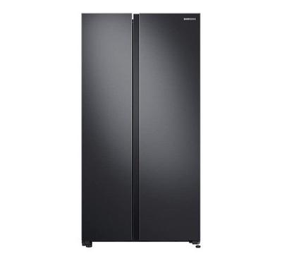Samsung SBS Fridge, 680.0L, Digital Inverter Compressor,Black