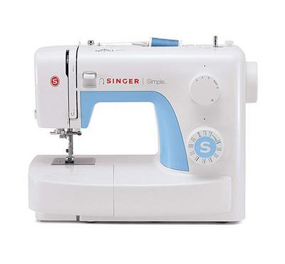 Singer Simple Electric Sewing Machine, White
