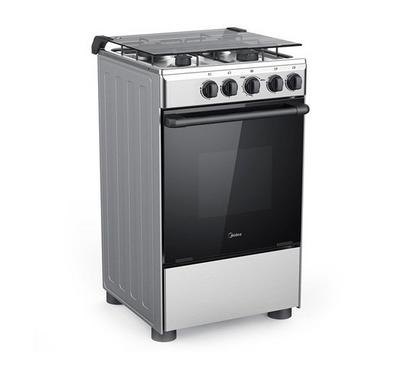 Midea 50x55cm Gas Cooking Range With Grill Stainless Steel