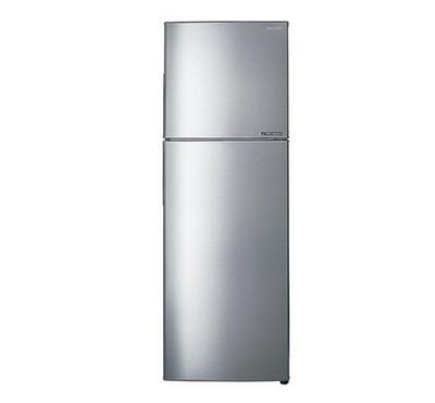 Sharp Fridge,Top Mount Freezer,330.0L, Silver.