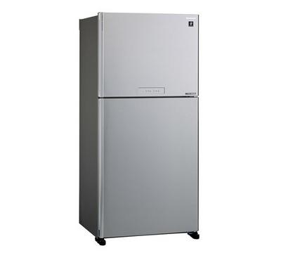 Sharp Fridge,Top Mount Freezer650.0L, Silver.