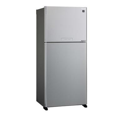 Sharp Fridge,Top Mount Freezer,700L, Silver.