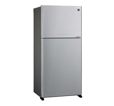 Sharp Fridge,Top Mount Freezer,750L, Silver.