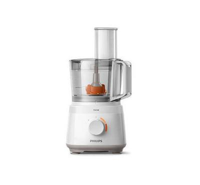 Philips Compact Food Processor,2.1L, 700W, 2 Speed,19 Functions , White