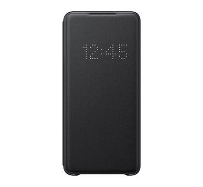Samsung Flip LED Cover for Galaxy S20 Plus, Black