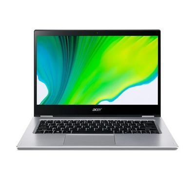 Acer Spin 3, Core i3, 14.1 Inch Touch Screen, 256GB, Silver