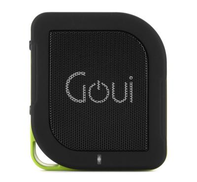 Goui Wall Charger and Power Bank 5200  with  Bluetooth Speaker, Black