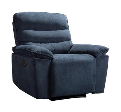 Homez, Manual Recliner Armchair, 1 Seater,  Domain Blue 108*96*10