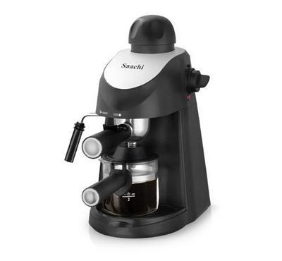 ساشي، صانعة قهوة، ضغط 3.5 بار، أسود