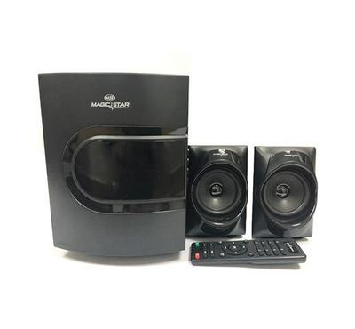 Magic Star Boom, Box 2.1 Subwoofer Speakers, Bluetooth, 50 w, Black