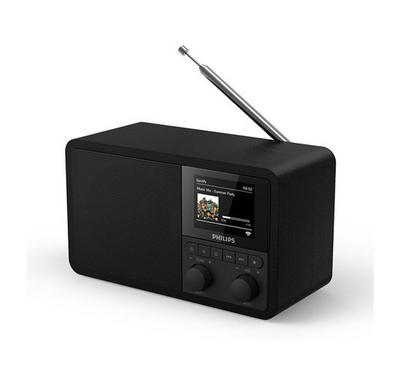 Philips Internet Clock Radio, Black