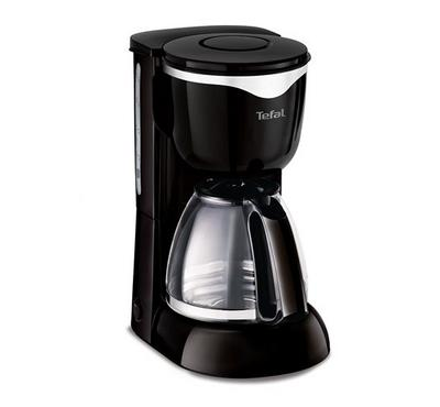 Tefal Coffee Maker, 1000W, Capacity 10-15 Cups, Good Value Black